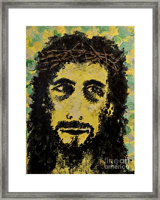 The Savior Framed Print by Alys Caviness-Gober
