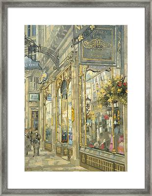 The Savoy Taylors Guild - The Strand Oil On Canvas Framed Print by Peter Miller