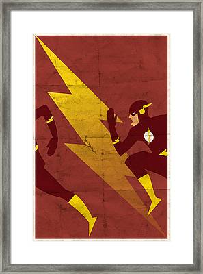 The Scarlet Speedster Framed Print by Michael Myers