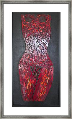 The Scarlet Woman Framed Print by Alison Edwards
