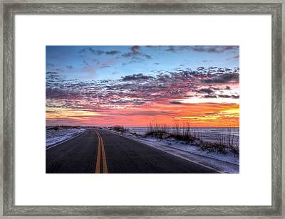 The Scenic Route Framed Print by JC Findley