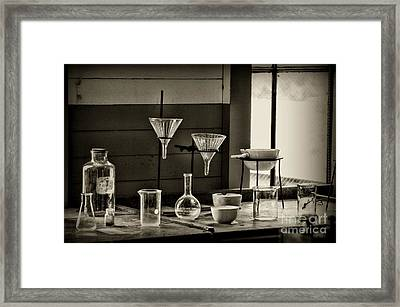 The Scientific Method Framed Print by Paul Ward