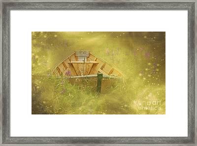 The Sea Of Dreams... Framed Print by Nina Stavlund