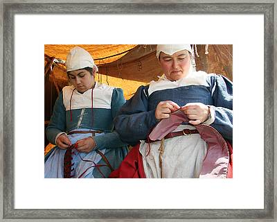 The Seamstress  Framed Print by Stephen Norris