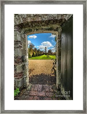 The Secret Garden Framed Print by Adrian Evans