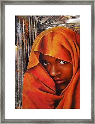 The Secret Framed Print by Michael Durst