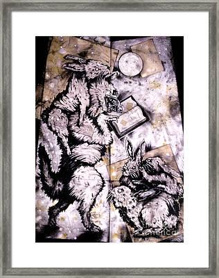 The Seduction Framed Print by Sol Robbins