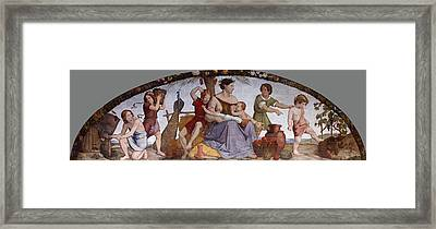 The Selling Of Joseph Framed Print by Friedrich Overbeck