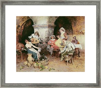 The Serenade Framed Print by Francesco Vinea
