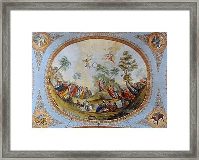 The Sermon Of Jesus On The Mount Framed Print by Celestial Images