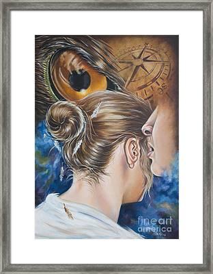 The Seven Spirits Series - The Spirit Of Counsel Framed Print by Ilse Kleyn