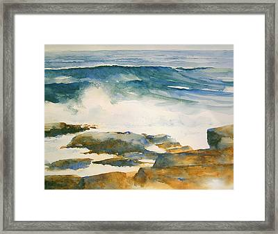 The Seventh Wave Framed Print by William Beaupre