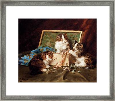 The Sewing Box Framed Print by Daniel Merlin