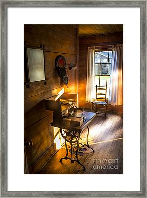 The Sewing Room Framed Print by Marvin Spates