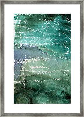 The Shallow End Framed Print by Linda Woods