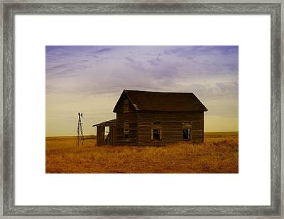 The Shambles Of Dreams Gone By Framed Print by Jeff Swan