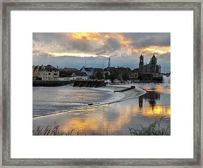 The Shannon River Framed Print by Brenda Brown