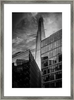The Shard London Framed Print by Martin Newman