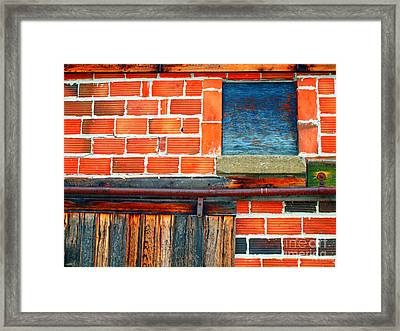 The Shed Framed Print by Tara Turner