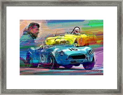 The Shelby Legacy Framed Print by David Lloyd Glover