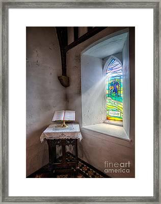 The Shepherd Framed Print by Adrian Evans