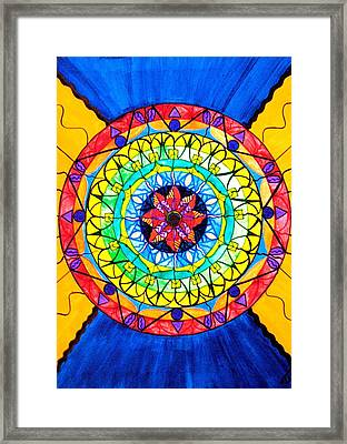 The Shift Framed Print by Teal Eye  Print Store