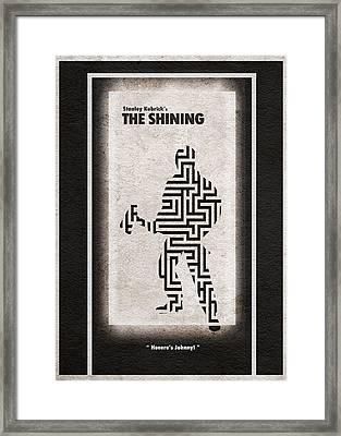 The Shining Framed Print by Ayse Deniz