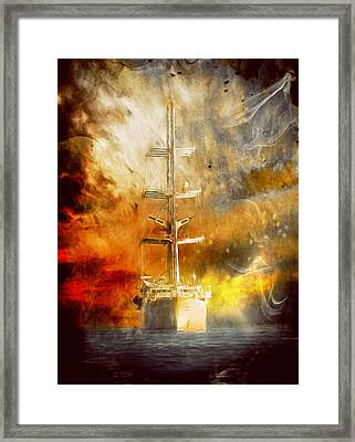 The Ship That Came Home Framed Print by Georgiana Romanovna