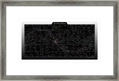 The Sidereal Heavens Framed Print by Nick Anthony Fiorenza