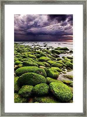 The Silence After The Storm Framed Print by Jorge Maia
