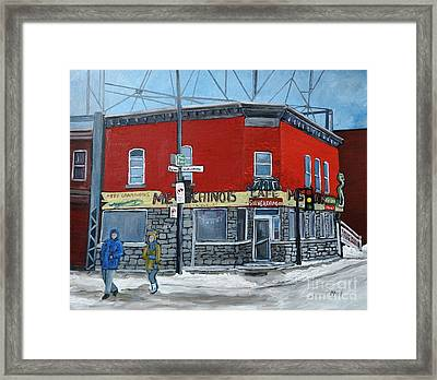 The Silver Dragon Restaurant Framed Print by Reb Frost