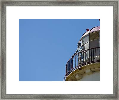 The Silver Man Framed Print by Spikey Mouse Photography