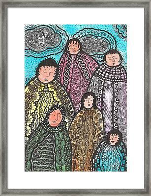 The Sisters Framed Print by Rebecca Klingbeil