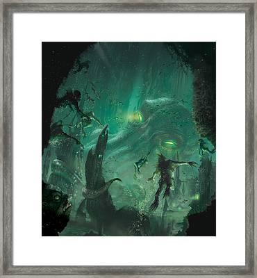 The Sleeper Below Framed Print by Ryan Barger