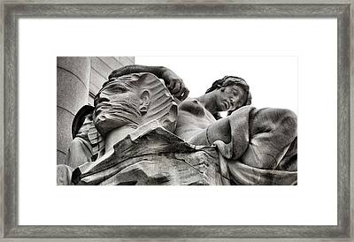 The Sleeping Continent  Framed Print by JC Findley