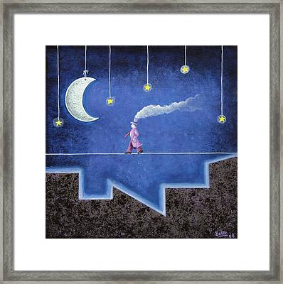 The Sleepwalker I Framed Print by Graciela Bello
