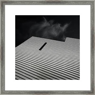 The Small Window Framed Print by Gilbert Claes