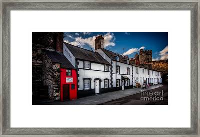 The Smallest House  Framed Print by Adrian Evans