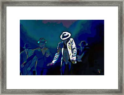 The Smooth Criminal Framed Print by  Fli Art