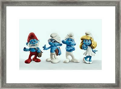 The Smurfs Movie Framed Print by Movie Poster Prints