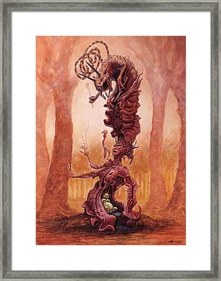 The Snarling Universe Framed Print by Ethan Harris