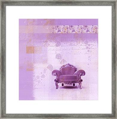 The Sofa Chair - S03mv01 Framed Print by Variance Collections