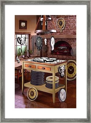 The Soft Clock Shop 2 Framed Print by Mike McGlothlen