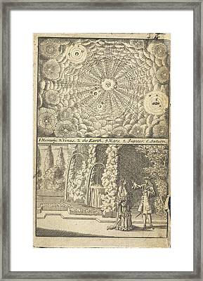 The Solar System Framed Print by British Library