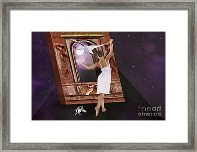 The Song Of The Swan Framed Print by Sydne Archambault