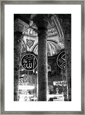 The Sophia Framed Print by John Rizzuto