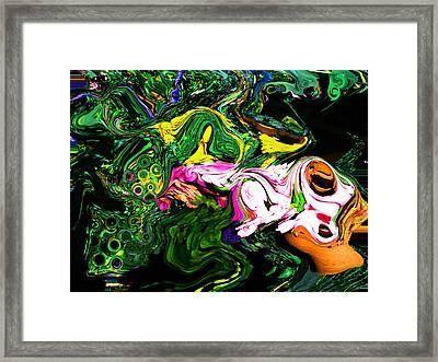The Sophisticated Diners Framed Print by David Dench