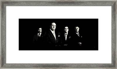 The Sopranos Framed Print by Laurence Adamson