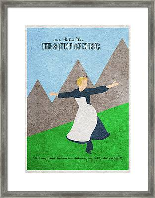The Sound Of Music Framed Print by Ayse Deniz