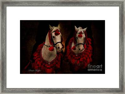 The Sounds Of Desert Framed Print by Dorota Kudyba
